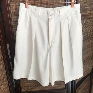 Tommy Bahama Vintage Silk White Bermuda Shorts